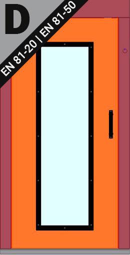 Dveře VDLM TYP-D